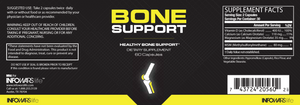 Label View Bottle of Bone Support For 5-Pack