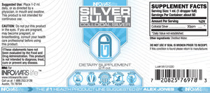 Silver Bullet -- Colloidal Silver Label