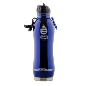 Stainless Steel Water Bottle - Clearly Filtered 1