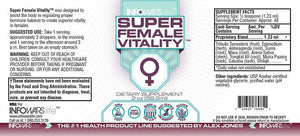 Super Female Vitality: 5 Pack Label