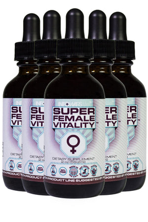 Super Female Vitality: 5 Pack