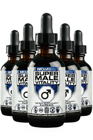 Super Male Vitality: 5 Pack