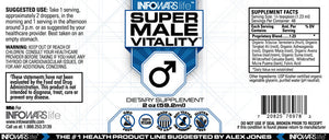 Super Male Vitality: 2 Pack Label