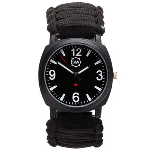 Survival Watch V3 Military Grade Paracord Front