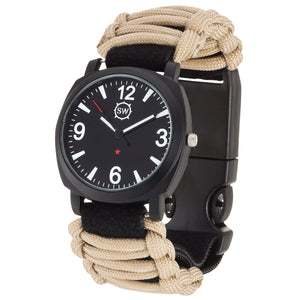 Survival Watch V3 Military Grade Paracord Tan