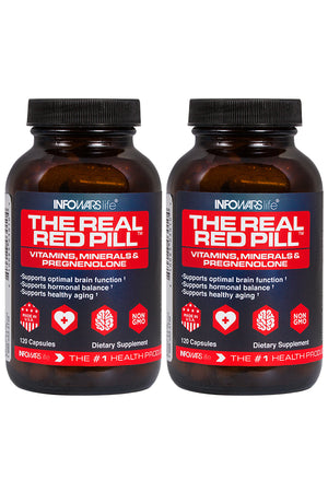 The Real Red Pill:2 Pack