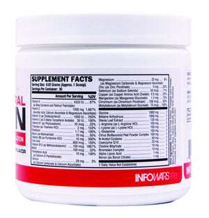 Vitamin Mineral Fusion: 10 Pack Label 1