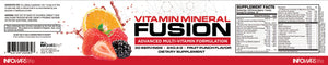 Vitamin Mineral Fusion Label