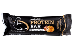 Infowars Life Protein Bars Chocolate Peanut Butter - 2 Pack