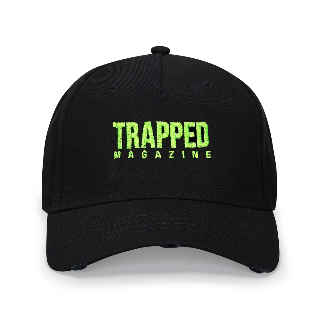 Slime Green Small Logo Baseball Cap