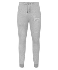 Chenille Slimfit Trapped Magazine Trackset - Grey/White