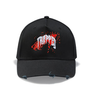 Re/Black Paint Splash Trapped Baseball Cap