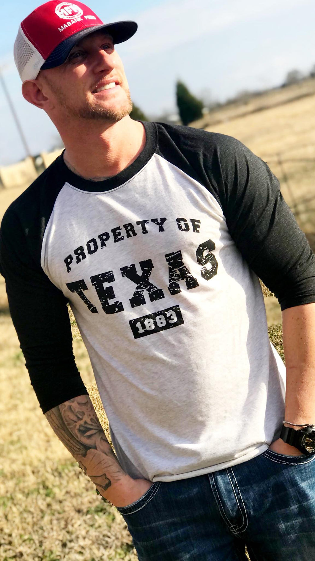 PROPERTY OF TEXAS RAGLAN