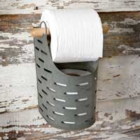 FARMHOUSE BUCKET TOILET PAPER HOLDER
