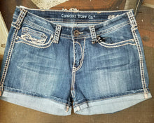 Never Give Up Denim Shorts