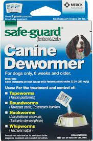 SafeGuard Canine Dewormer 20lbs