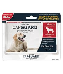 CapGuard Flea Treatment for dogs over 25lbs