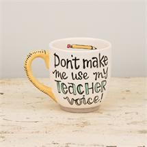 My Teacher Voice Jumbo Mug