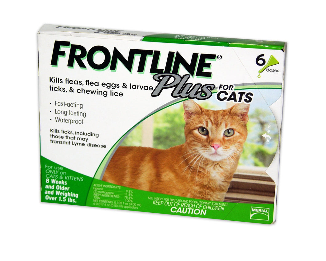 Frontline PLUS for Cats over 1.5 lbs