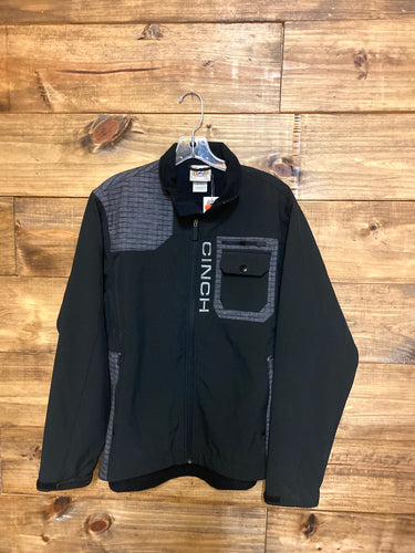 Men's Black Cinch Jacket