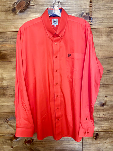 Men's Cinch Button Down Long Sleeve Shirt