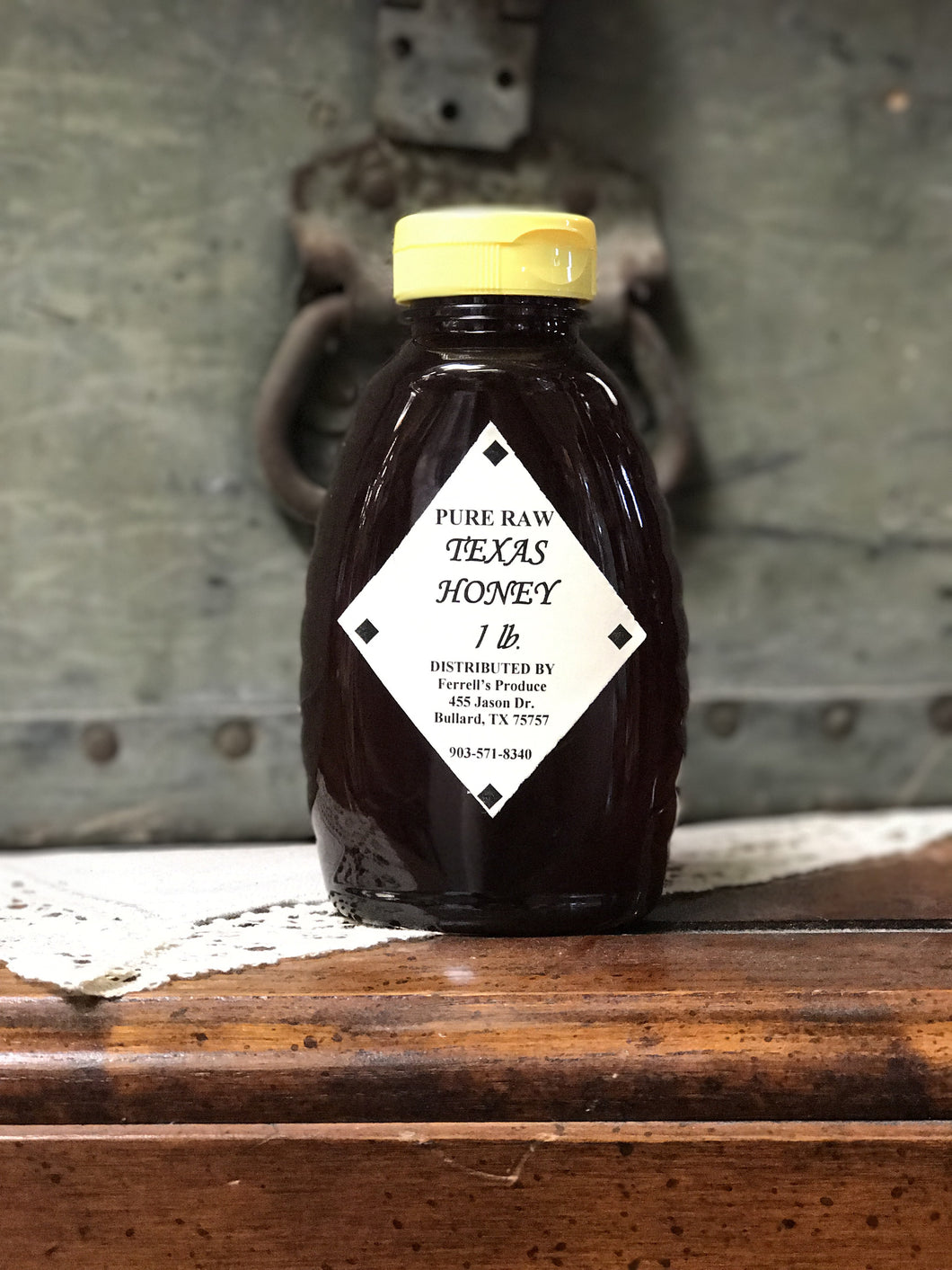 Pure Raw Texas Honey 1lb