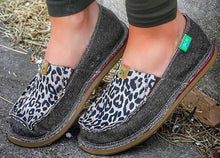 Leopard Print Twisted X Eco Loafer