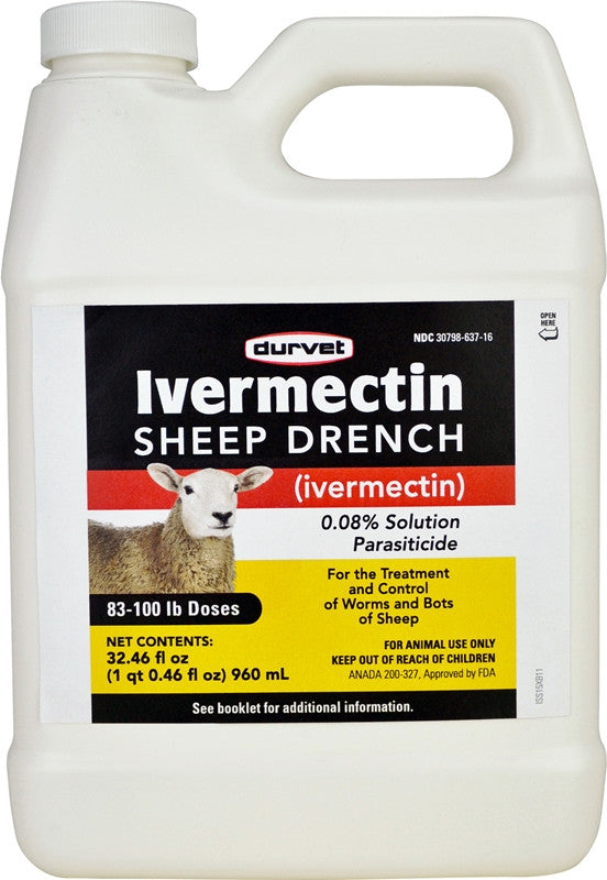Durvet Ivermectin SHEEP DRENCH