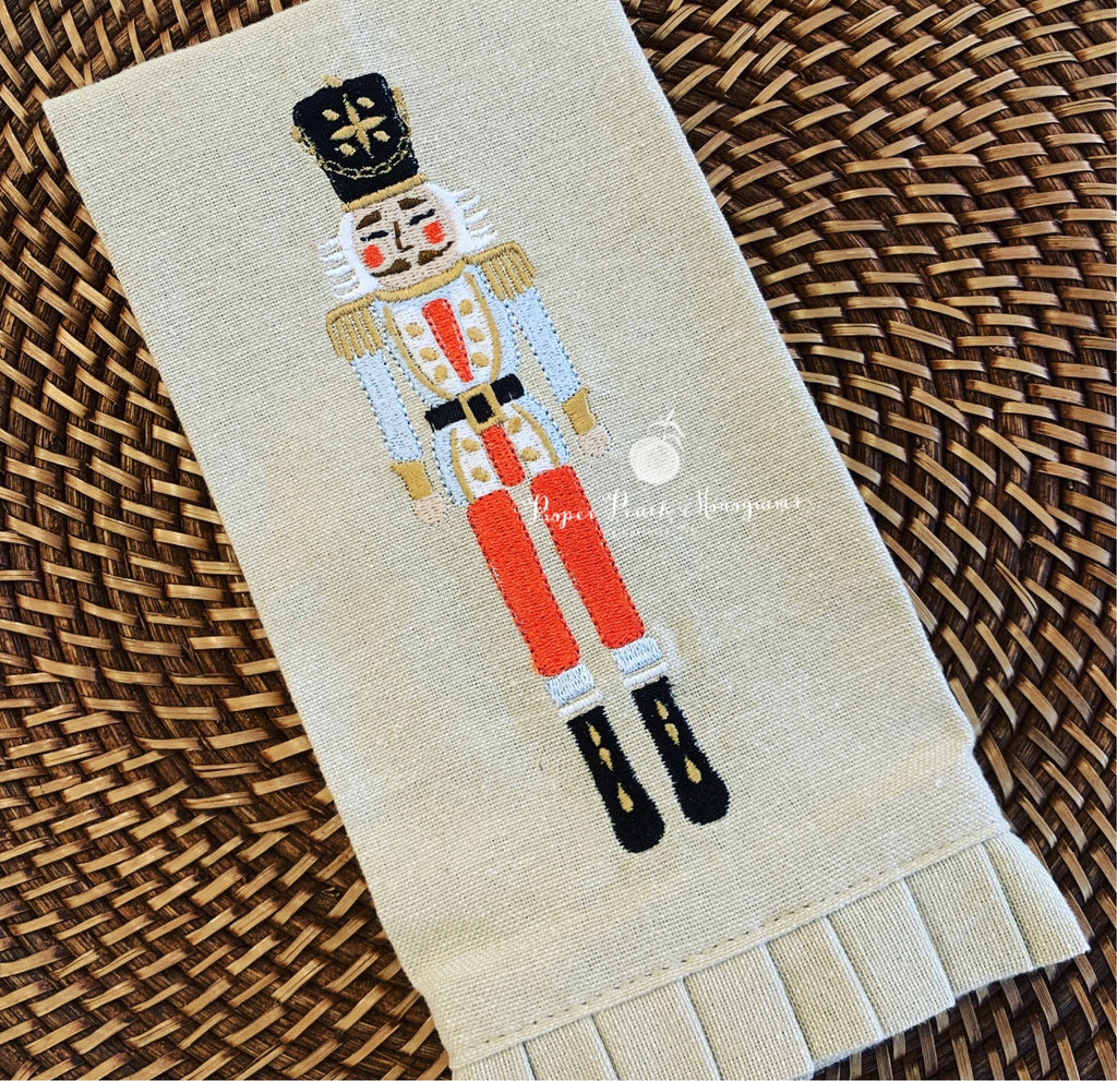 Nutcracker Fingertip Towel