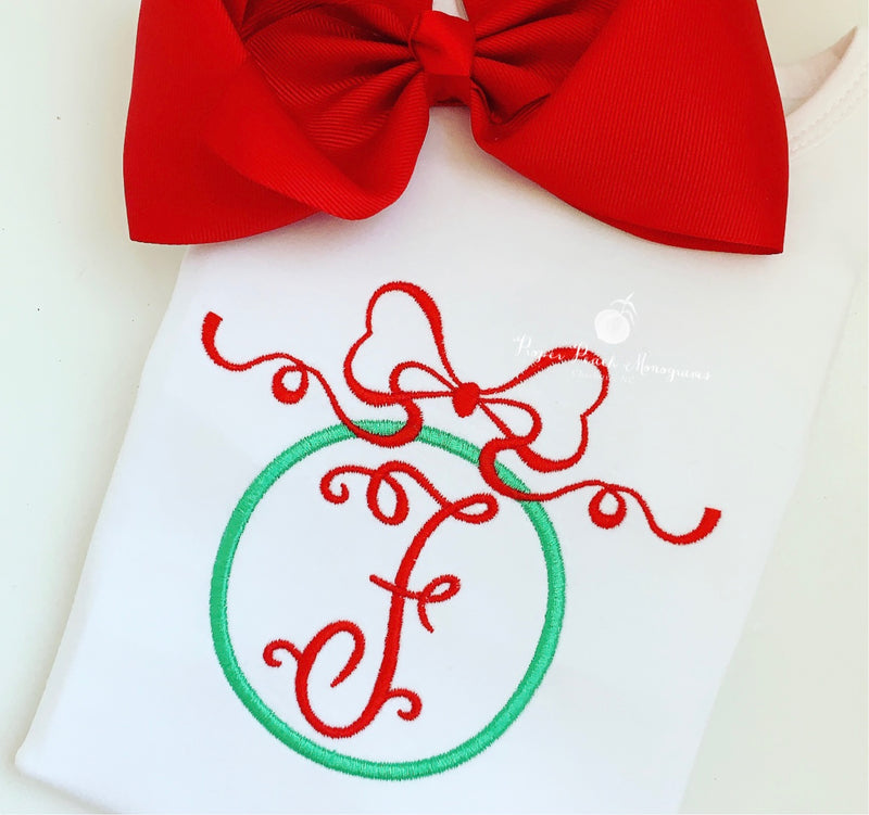 Ornament Monogram Frame