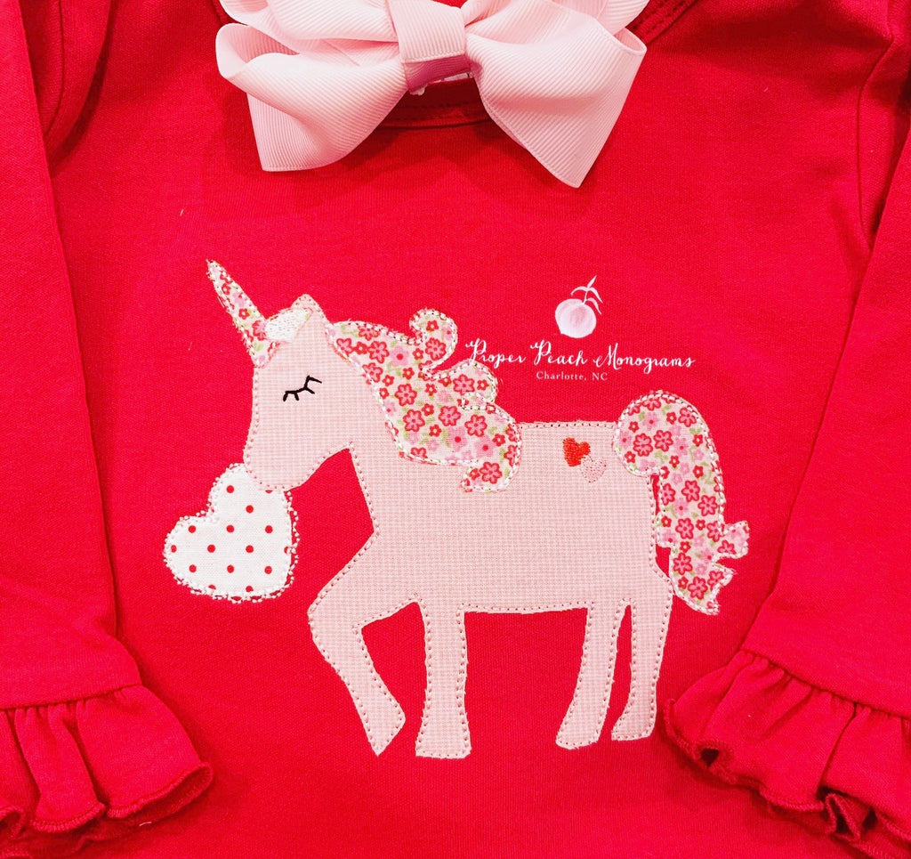 Valentine's Unicorn Design