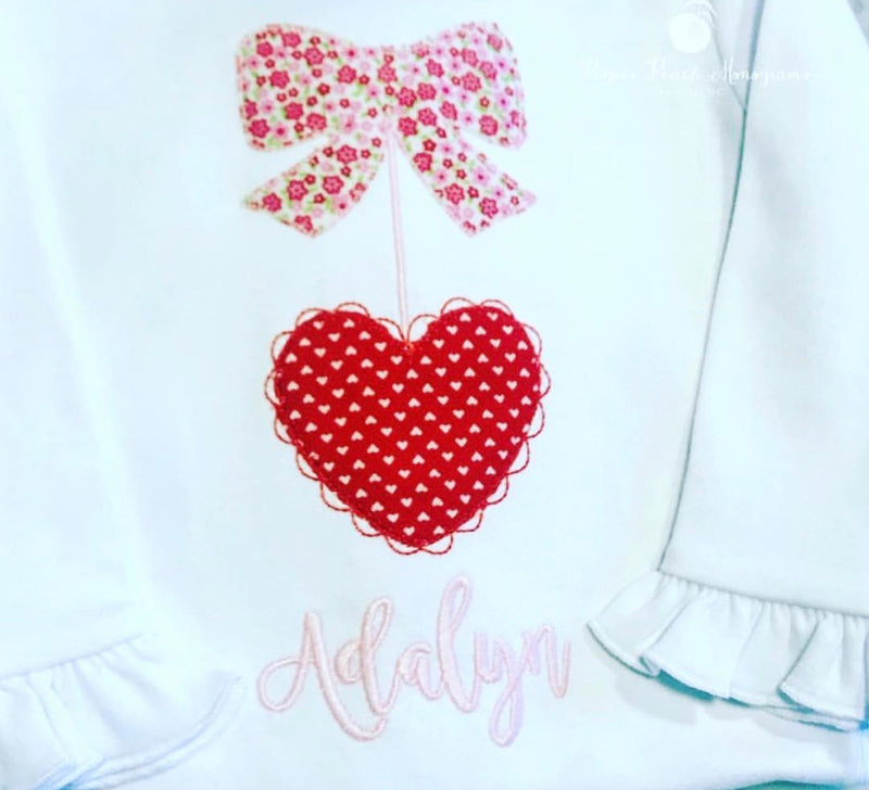 Heart Applique tee