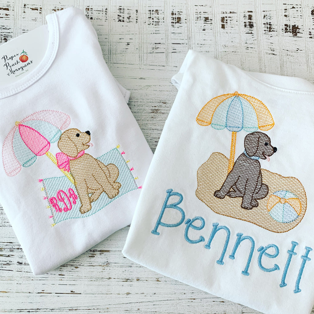 Boy Beach Pup Tee