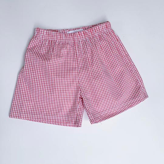 Boys Windowpane Shorts