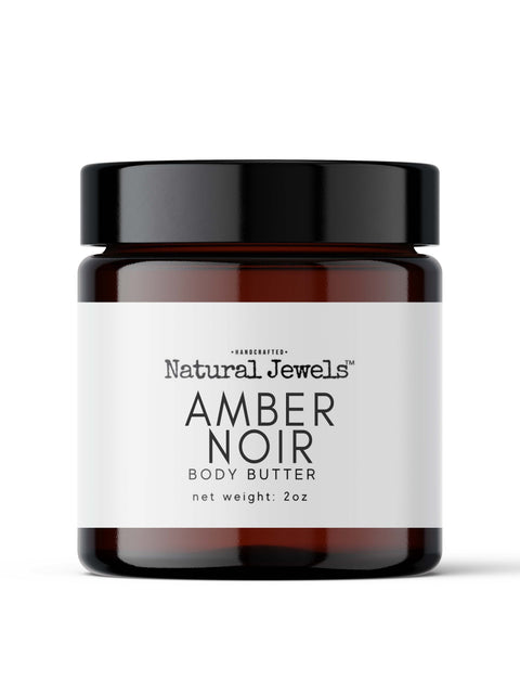 Mini Amber Noir Body Butter