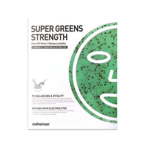 ESTHEMAX™ HYDROJELLY MASK - SUPER GREENS STRENGTH