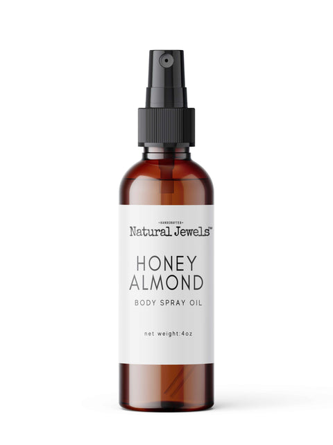 Mini Honey Almond Body Oil