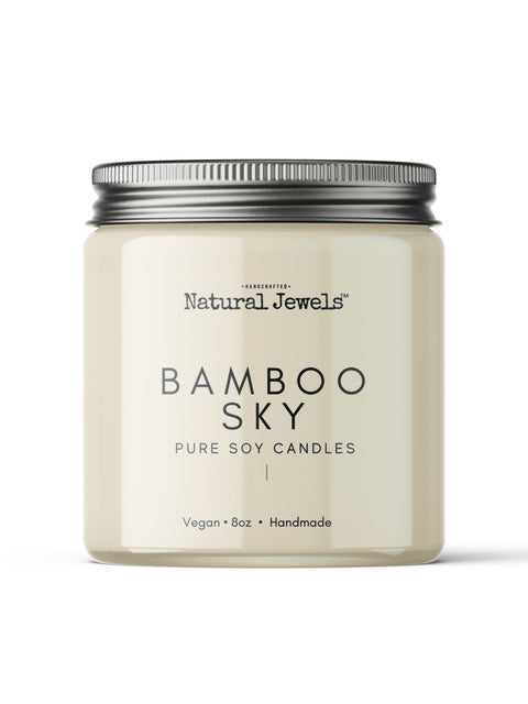 Bamboo Sky Soy Wax Candle