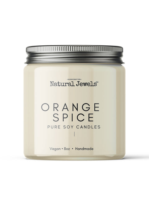 Orange Spice Soy Wax Candle