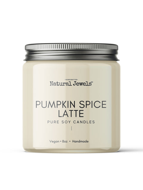 Pumpkin Spice Latte Soy Wax Candle