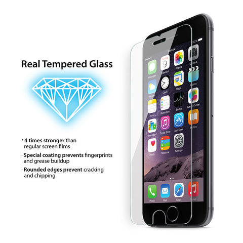 9H Tempered Glass for iPhone 8 Plus/7 Plus/6S Plus/6 Plus