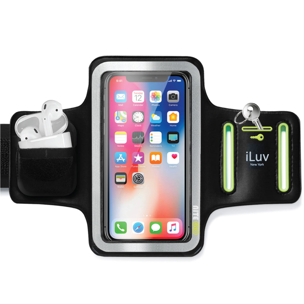 Pro Sports Armband With Airpods Pocket Key Holder Iluv Creative Technology