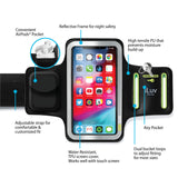 Pro Sports Armband with AirPods Pocket & Key Holder
