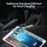 Fast Dual (USB-C PD/USB-A) Car Charger