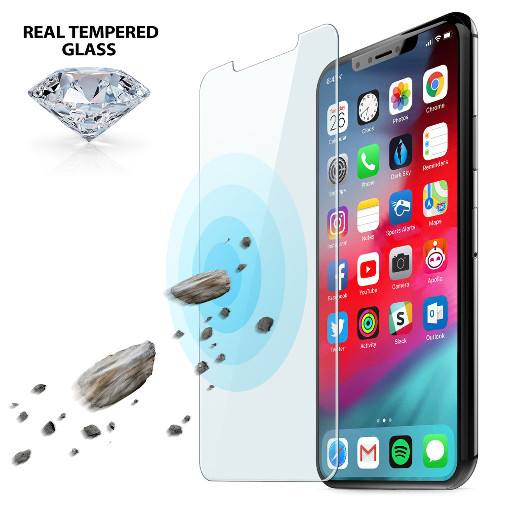 finest selection 3f107 ddf67 Tempered Glass Screen Protector Kit for iPhone Xs Max