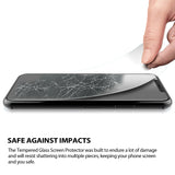 Tempered Glass Screen Protector Kit for iPhone XR