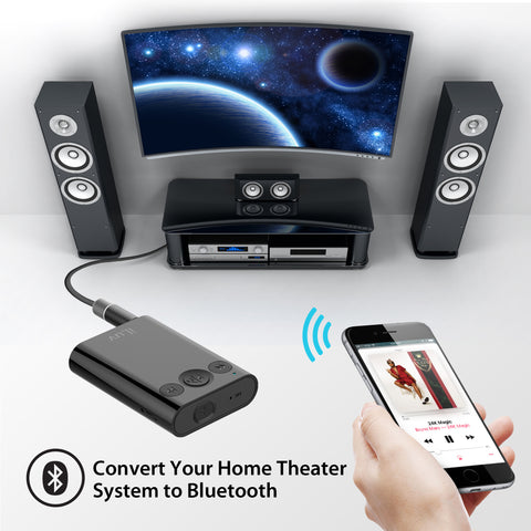 Bluetooth Stereo Receiver with Splitter Adapter – iLuv
