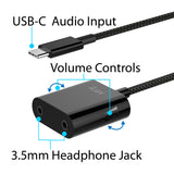 USB-C 2-Way Audio Splitter