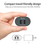 Dual Port Fast Wall Charger