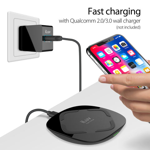 10W Qi Fast Wireless Charger – iLuv Creative Technology
